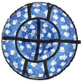 Тюбинг Hubster Люкс Pro Мишки синие 100 см