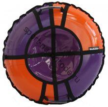 Тюбинг Hubster Sport Pro фиолетовый-оранжевый 120 см