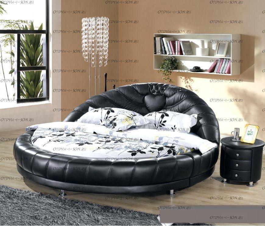 Кровать круглая Амстердам 1083.МО б/о