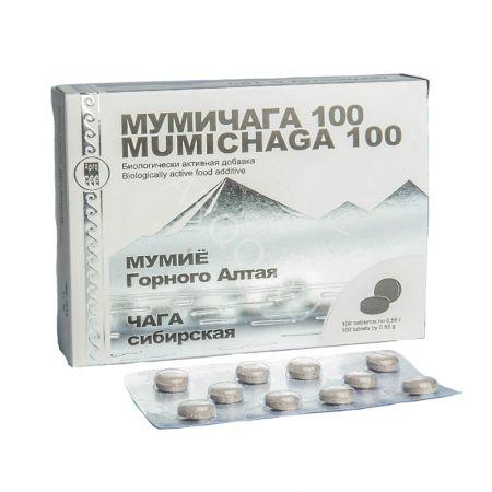 БАД Мумичага 100