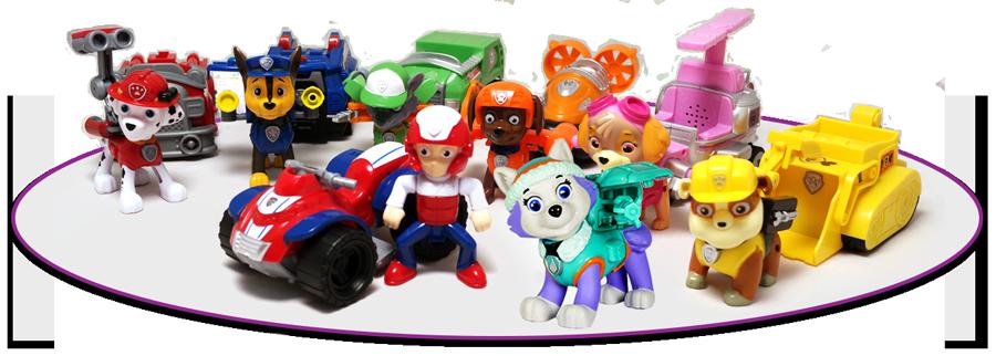 Команда щенков–спасателей (7 героев) + Эверест
