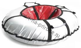 Тюбинг Hubster Ринг Pro серый-красный 90 см