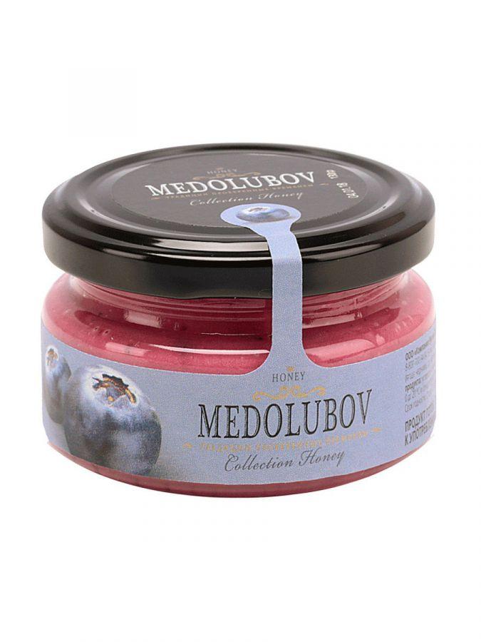 Крем-мёд Медолюбов с черникой 100мл