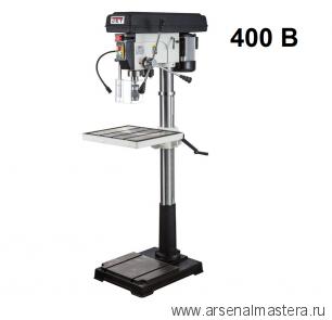 Напольный вертикально-сверлильный станок 0,85 кВт 400В (дерево / металл) Jet JDP-20FТ 10000460T