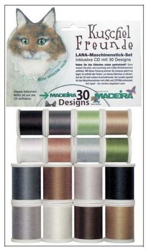 Набор вышивальных ниток Madeira LANA (16*200м) арт.8200
