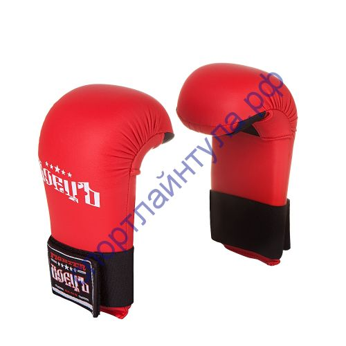 Спарринговые перчатки для каратэ BKM-70 Красные