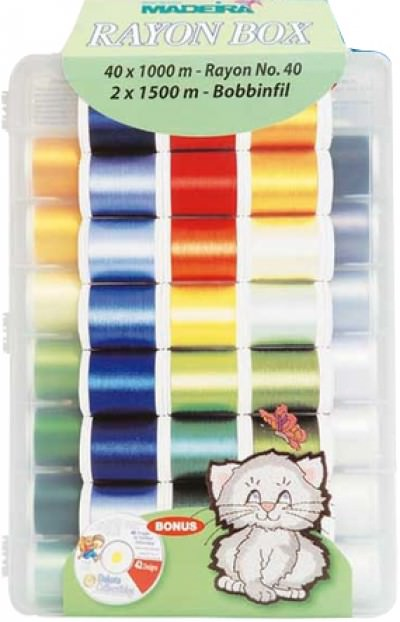 Набор вышивальных ниток Madeira Rayon (42*1000м) арт.8042