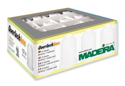 Набор оверлочных ниток Madeira Overlockbox 3+1 арт. 9200