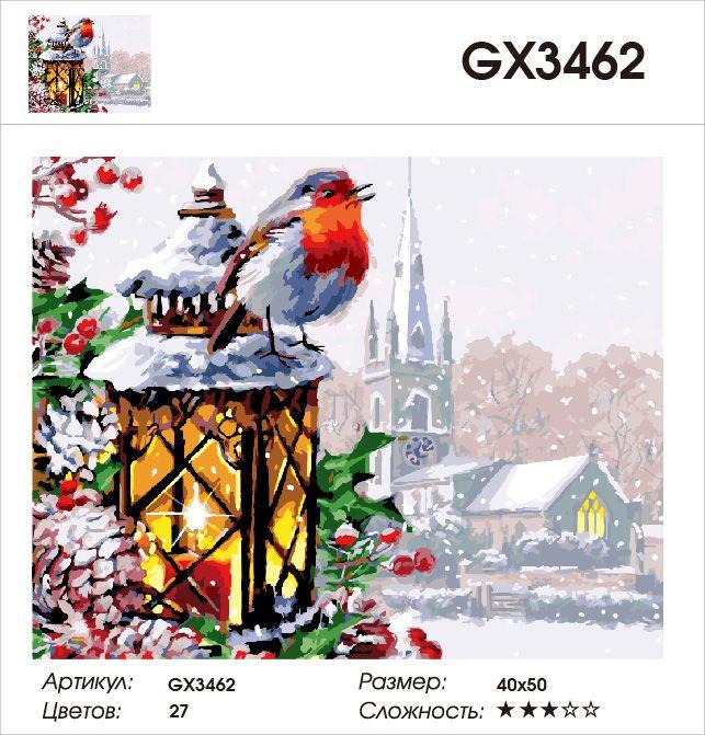 Картина по номерам на холсте GX3462