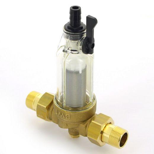 """Фильтр промывной BWT Protector mini 3/4"""" 100 мкм для х/в пластик. колба"""