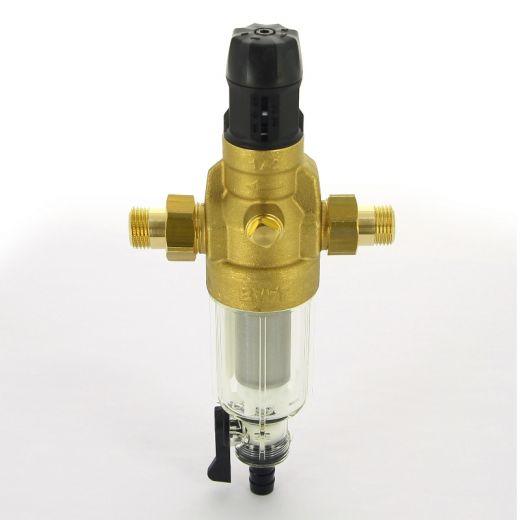 """Фильтр промывной BWT Protector mini HWS 1/2"""" 100 мкм для х/в пластик. колба"""