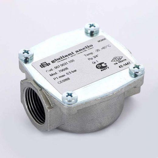 """Фильтр газовый для серий FGB20 WATTS Ind для серий FGB20 3/4"""" 0,5бар"""
