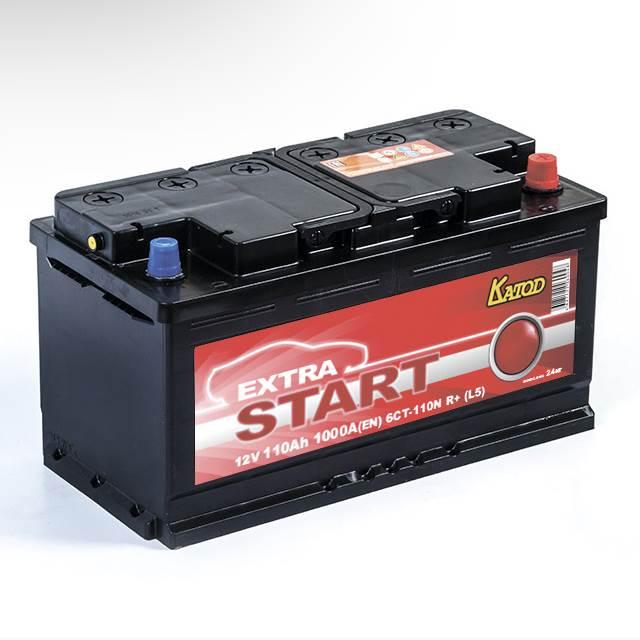 Автомобильный аккумулятор АКБ Extra START (Экстра Старт) 6CT-110 110Ач о.п.