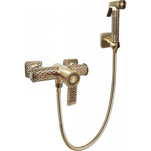 Гигиенический душ со смесителем Antik Duo 06-01.02 Br