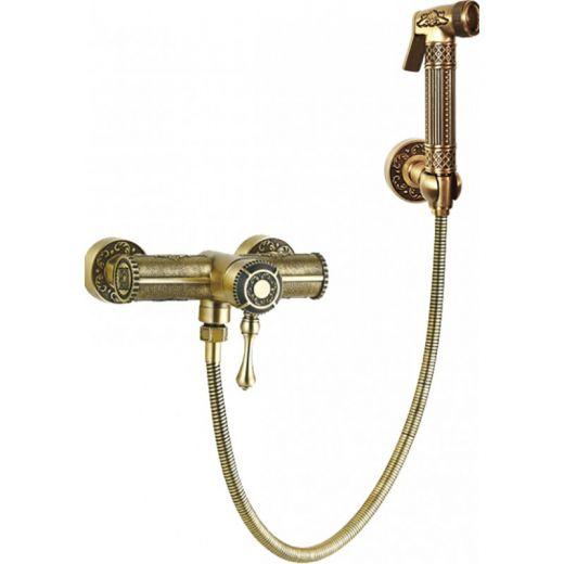 Гигиенический душ со смесителем Antik 06-01.01 Br