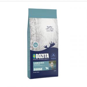 Корм сухой BOZITA NATURALES для взрослых собак с чувствительным пищеварением, с ягненком 12кг