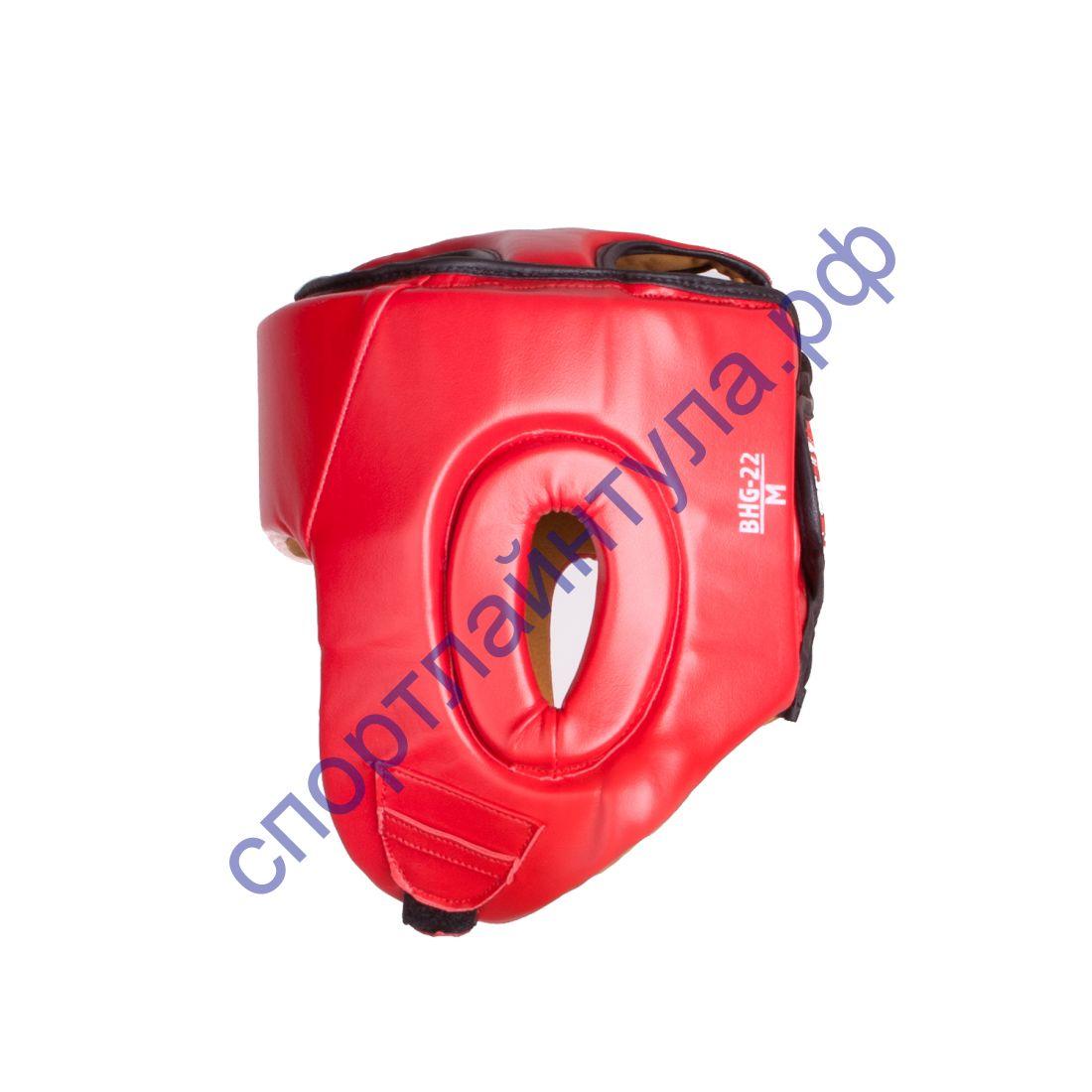 Шлем боксерский BHG-22 Красный