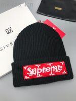 Supreme шапка черная