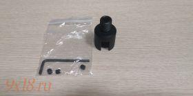 Переходник для установки саундмодераторов / приборов изменения звука на безрезьбовой ствол