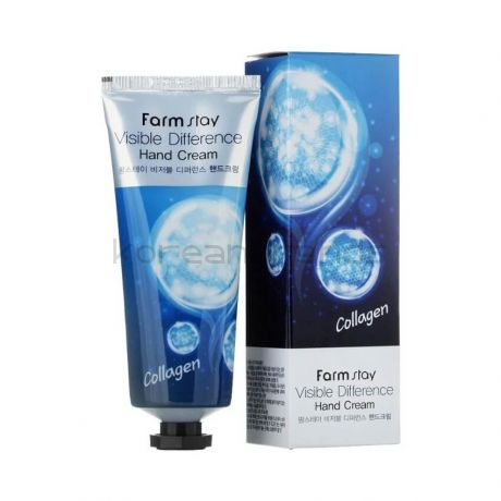 Farmstay Visible Difference Collagen Hand Cream