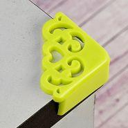 Накладки защитные на углы зеленые, 4шт