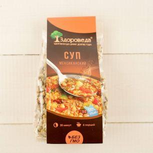 Суп мексиканский с рисом и кукурузой, 250 гр