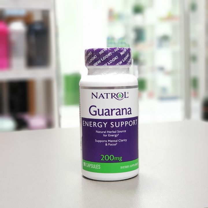 Natrol - Guarana 200 mg (90 капс.)