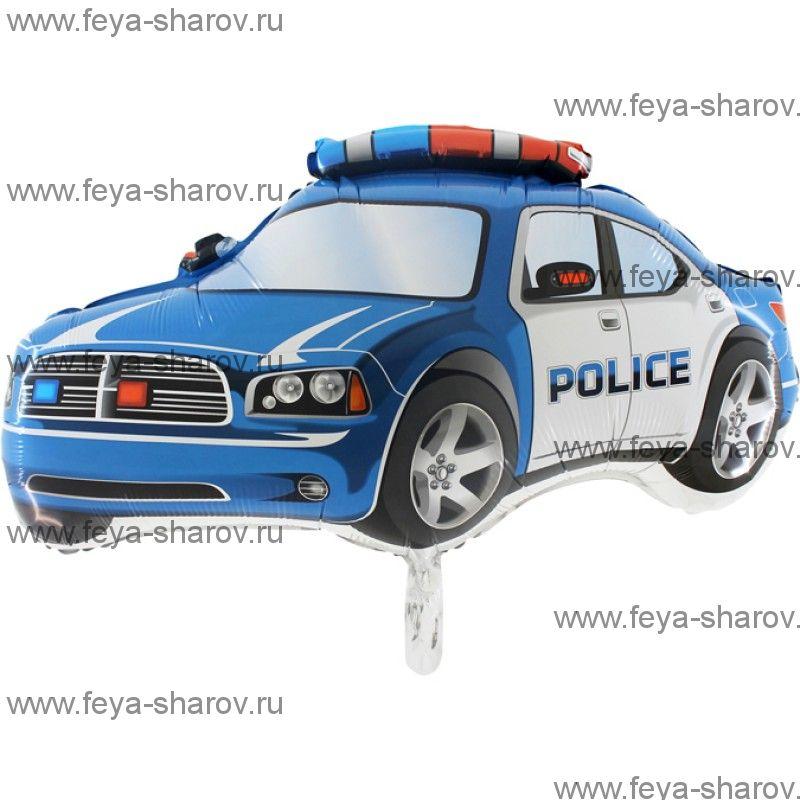 Шар Машина Полиция 78см