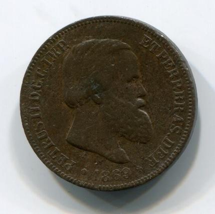 10 рейс 1869 года Бразилия