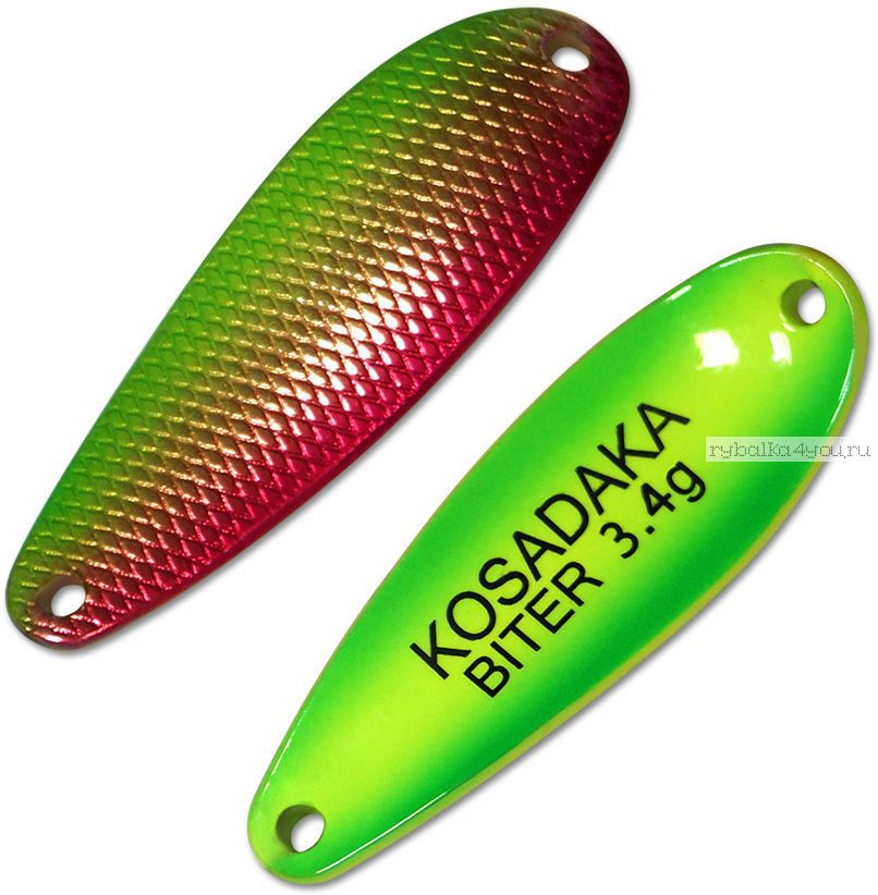 Блесна колебалка Kosadaka Trout Police Biter 3,4 гр / 37 мм / цвет: AG89