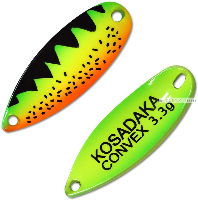 Блесна колебалка Kosadaka Trout Police Convex 3,3 гр / 32 мм / цвет: AA14