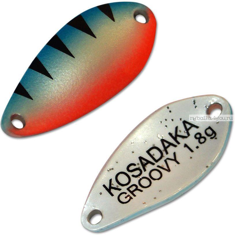 Блесна колебалка Kosadaka Trout Police Groovy 1,8 гр / 25 мм / цвет: AA28