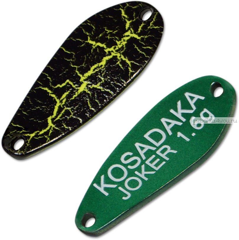 Блесна колебалка Kosadaka Trout Police Joker 1,6 гр / 25 мм / цвет: AK53
