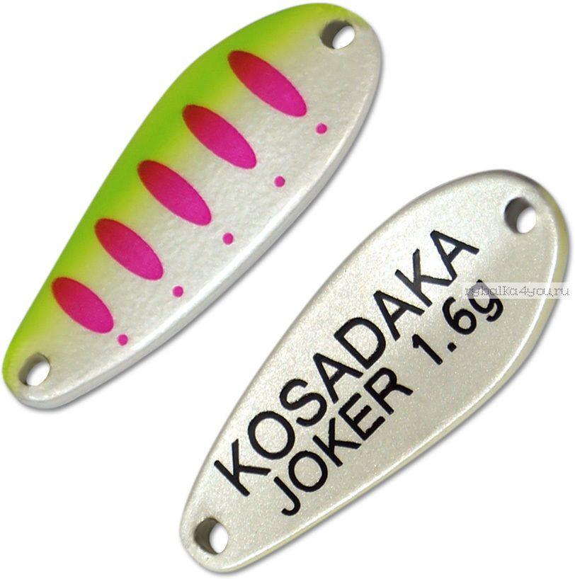 Блесна колебалка Kosadaka Trout Police Joker 1,6 гр / 25 мм / цвет: AK56
