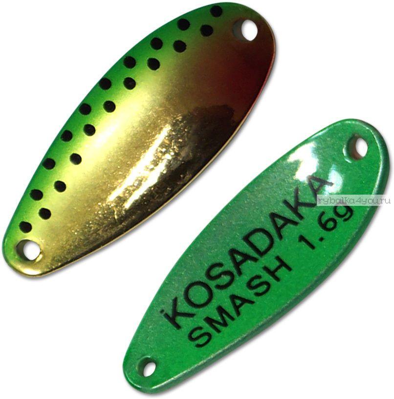 Блесна колебалка Kosadaka Trout Police Smash 1,6 гр / 27 мм / цвет: H80