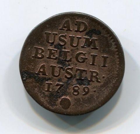 1 лиард 1789 года Австрийские Нидерланды