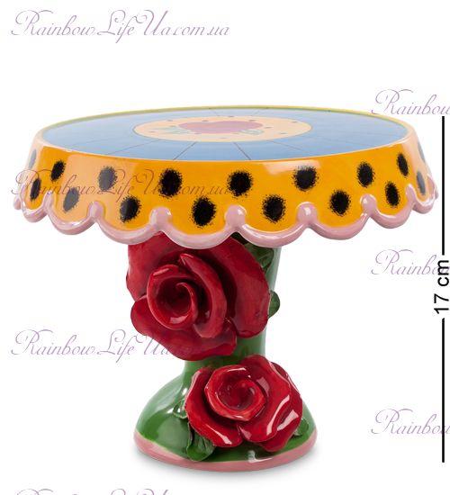 "Тортовница розы ""Pavone"""