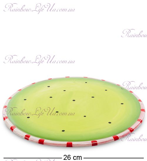 "Десертная тарелка Пудель ""Pavone"""