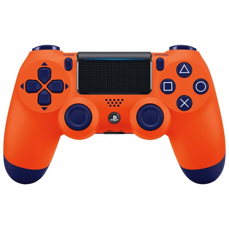 Sony DualShock 4 v2 Sunset Orange Геймпад для PS4 оранжевый