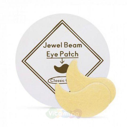 Etude House Гидрогелевые патчи с коллоидным золотом и коллагеном Jewel Beam Eye Patch