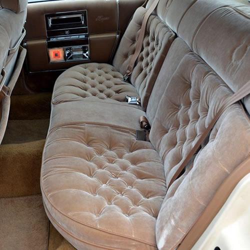 Ремонт тканевых сидений авто