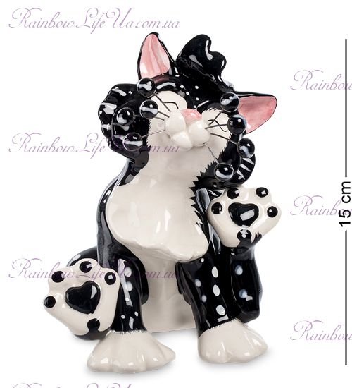 """Фигурка кот Чарльстон """"Pavone"""""""