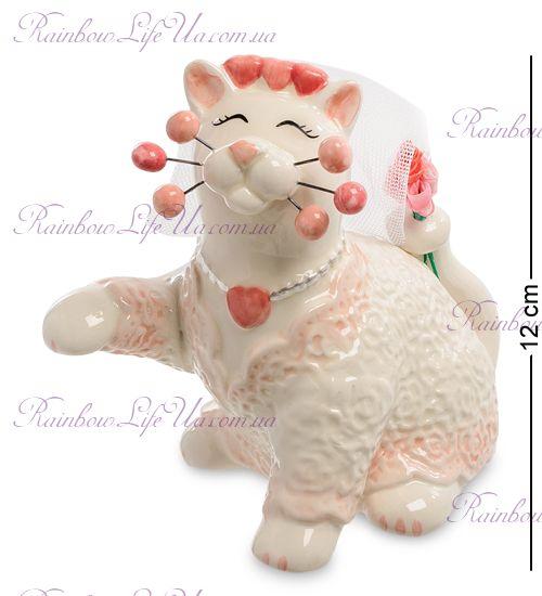 """Фигурка кошка невеста """"Pavone"""""""