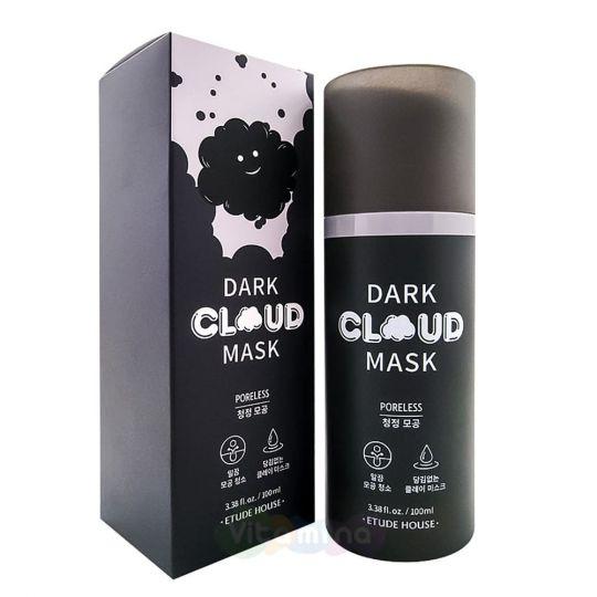 Etude House Маска для сужения пор Dark Cloud Mask Poreless, 100 мл