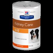 Hill's PD Canine k/d Renal Health Диетические консервы для собак при заболевании почек (370 г)