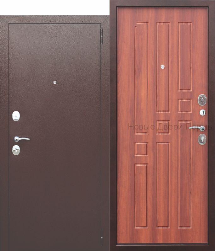 """""""БРИДЖ"""" 8мм. Дуб рустикальный входная дверь в квартиру"""