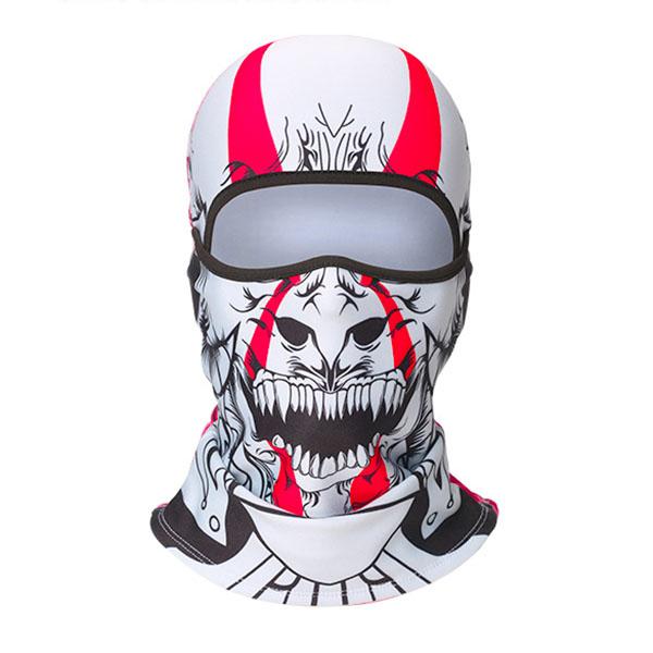 "Балаклава ""Skull red"""
