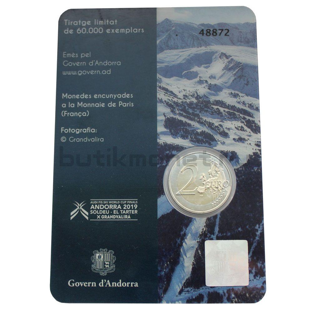 2 евро 2019 Андорра Финал Кубка мира по горнолыжному спорту (В буклете)