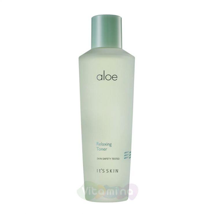 It's Skin Успокаивающий тонер с экстрактом сока алоэ вера Aloe Relaxing Toner, 150 мл
