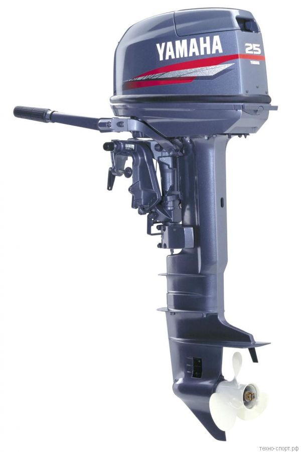 Лодочный мотор Yamaha 25 BMHS 2х-тактный